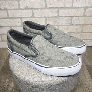 LUGZ Clipper 2 Slip On Shoes Grey Size 8